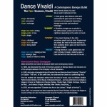 Dance Vivaldi - Back Cover