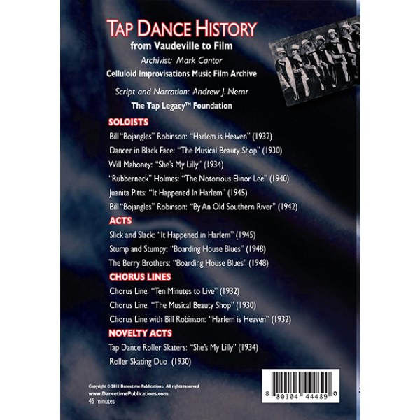 history of tap dancing Want to learn how to make music with your feet get started with these 4 essential tap dance steps for beginners.