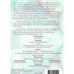 How To Dance Through Time, Volume IV - Back Cover
