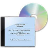 How To Dance Through Time, Volume III, Music CD