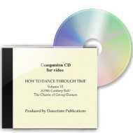 How To Dance Through Time, Volume VI, Music CD