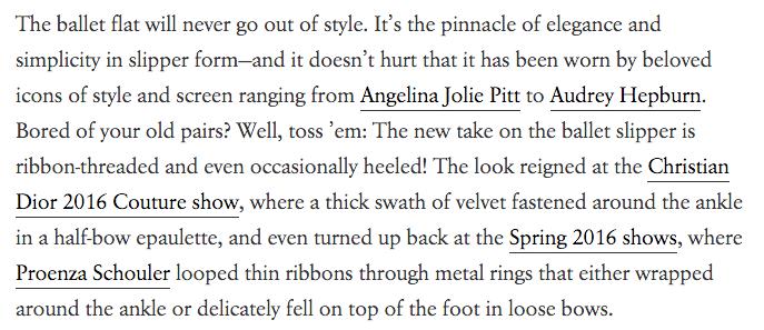Vogue Article Teaser